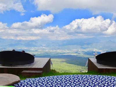 山梨で初秋を感じる一日 ♪  勝沼のぶどう狩りと清里テラスで眺める絶景