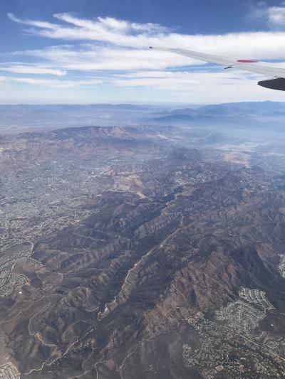 カリフォルニア近辺一人旅(初海外)