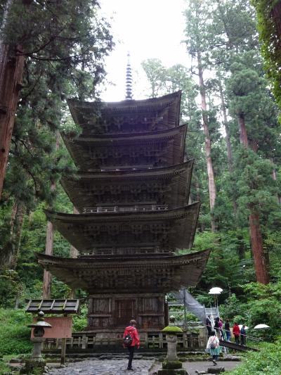 立石寺と羽黒山の山形へ(3)羽黒山