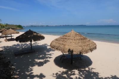 娘1歳の誕生日シンガポール4★ちょっとだけインドネシア バタム島のプール付きヴィラでバカンス 青空のバタム ~Montigo Resort~