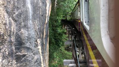 2018年の夏休みは泰緬鉄道を追い求めてタイへ/ナムトック駅から折り返しカンチャナブリー駅に/その3