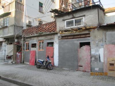 上海の下街・南倉橋街(十六舗内)・2018年