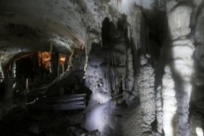 バルカン半島を旅する23スロベニア・ポストイナ鍾乳洞編