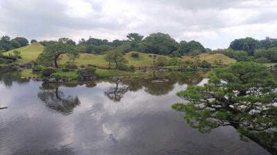 201809熊本城、水前寺公園