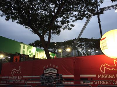 居心地の良いシンガポール☆F1シンガポールグランプリ@ヒルトンシンガポール&マリーナベイサンズ Sep. 2018