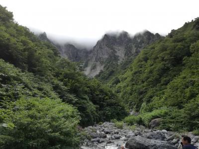 2018年夏の18切符2日目 今年も快速山の日谷川岳で一ノ倉沢簡単ハイキングに行く