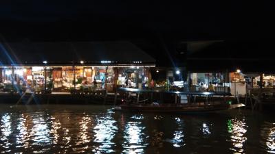 タイ三大水上マーケットの一つと言われているアンパワー水上マーケットへ!