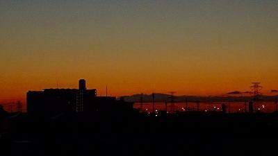早朝散歩 宝塚市安倉上の池の日の出 上巻。