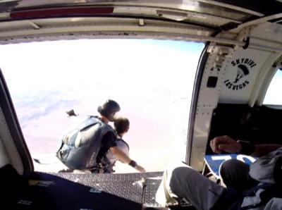 ラスベガス スカイダイビング タンデムジャンプ