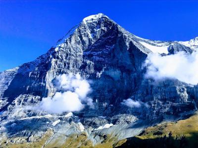 〈はじめてのスイス旅行〉4日目:メンリッヒェンからアイガー北壁を眺めながらハイキング