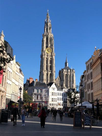 ベルギー アントワープとブリュッセル弾丸旅行 20180925~20180928