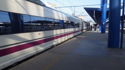 マドリッドからAVEに乗ってバルセロナへ