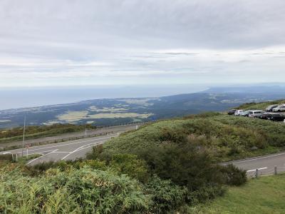 初秋の鳥海山