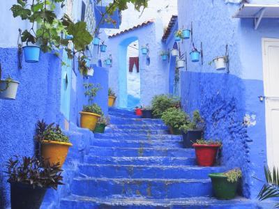 モロッコ女子一人旅(2)-青い街シャウエンは綺麗なだけじゃない!