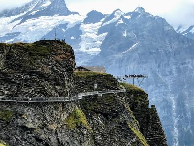 〈はじめてのスイス旅行〉5日目:ユングフラウヨッホとフィルストへ