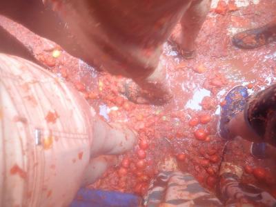 念願のエミレーツファーストでスペイン周遊。いったいどれがメインなの?トマト祭り編