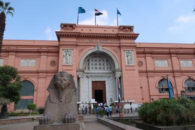③エジプト旅行 エジプト博物館、アレキサンドリア編