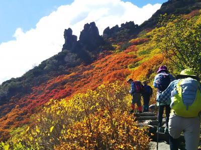 2018.9.15~19 一足早い北海道の紅葉巡り5日間~黒岳登山と浮島湿原~