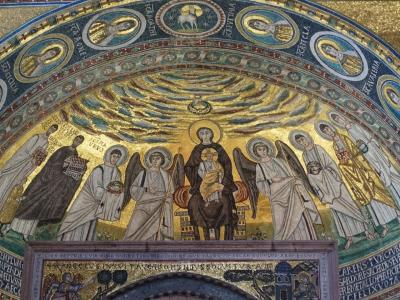 2018SWイストラ半島その8~このモザイクを見たくてはるばる!ポレチュのエウフラシウス聖堂