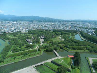 初めて訪れました!『五稜郭』◆2016年8月・東北縦断~函館の旅《その17》