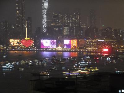 年末年始に約30年ぶりの香港 Vol.5(4日目カウントダウン花火)