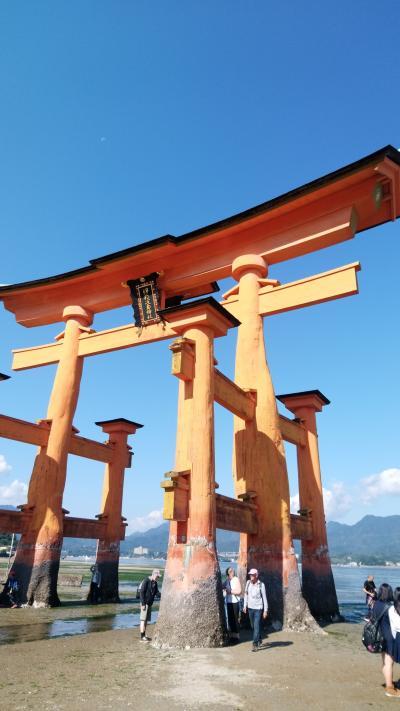 お仕事旅ではありますが。。。広島、姫路、京都などの世界遺産を訪れました。