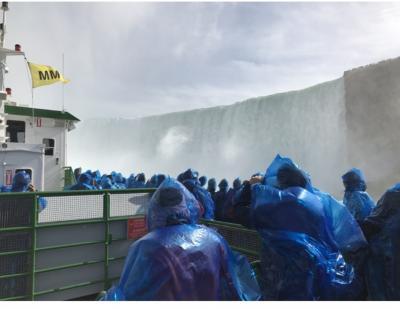 NYからナイアガラの滝へ