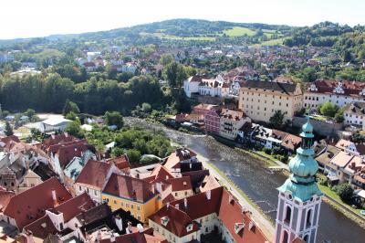 2018 夏 中欧チェコ街歩き~♪vol.4 中世の街チェスキー・クルムロフ
