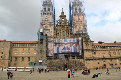 初秋のポルトガル、ちょこっとスペインを巡る 23 15日目 サンティアゴ・デ・コンポステーラ①