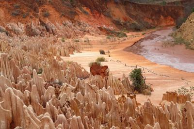 マダガスカルゆったり周遊12日間のツアーに参加 行ってきました! №2 ディエゴ スアレス観光編(ディエゴ スアレス~レッドツインギー~灰色ツインギー)