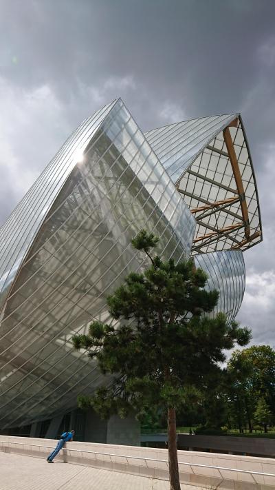 2018夏!ドイツ・フランスの旅⑤ルイヴィトン財団・デジタルアートミュージアム