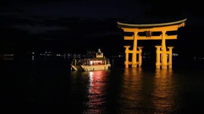 深秋の宮島にステイ。清流に架かる名橋、錦帯橋も駆け足で。