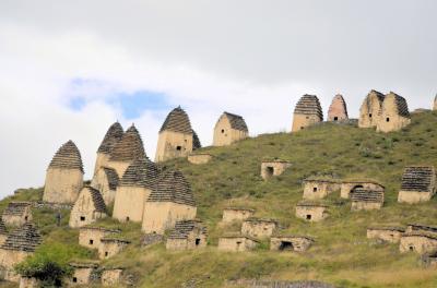 7.北オセチア共和国の「死者の町」: 北コーカサス4ヶ国(ダゲスタン、チェチェン、イングーシ、北オセチアーアラニア)旅