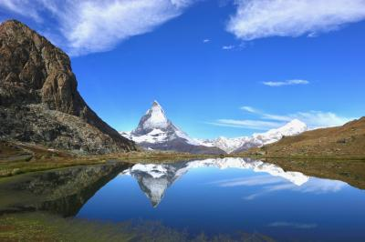ツェルマット3つの湖めぐり・ 美しすぎるリッフェルゼー「逆さマッターホルン」