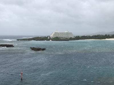 台風24号直撃の沖縄旅行、ANAインターコンチネンタル万座ビーチリゾート宿泊(前編・台風接近編)