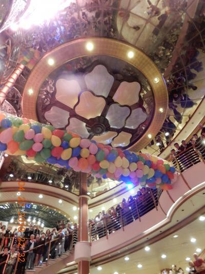 大型客船・ダイヤモンドプリンセス再乗船☆花をもとめて日本周遊⑪Let's Dance!そしてヨコハマ