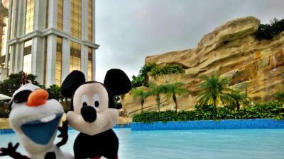 【マカオ航空で行く初めてのマカオ④】ギャラクシーマカオのプールで遊んだ後はマカオ最終夜のカジノ決戦!の、はずが…
