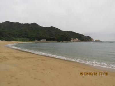 9月の福岡への旅⑲芥屋海水浴場付近の風景