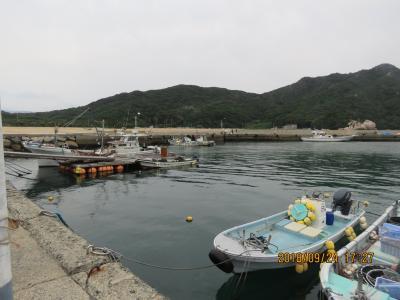 9月の福岡への旅⑳福の浦漁港付近の風景