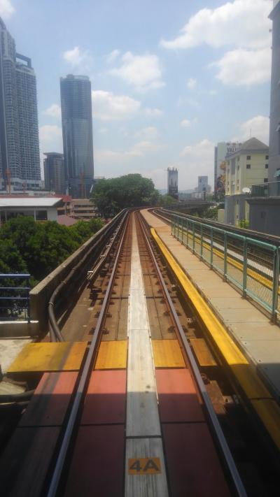 80日間アジア徘徊 くず鉄KLで電車でGoゴッコ
