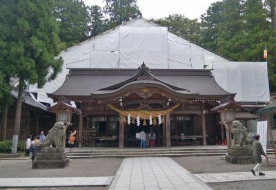 白山比咩神社の苔を見に I