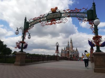国慶節の上海!ハロウィンのディズニーリゾートと市内観光!-1