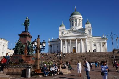 フィンランドのヘルシンキ街歩き