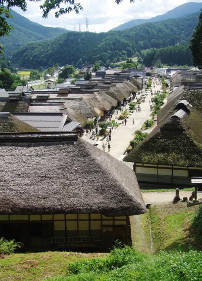 福島南会津の「大内宿」から「塔のへつり」、そして会津若松の「七日町通り」を歩きます!