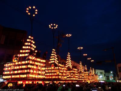 日本三大提灯祭りで有名な二本松提灯祭り