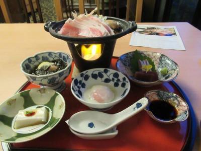 秋の沖縄・石垣島(12)アリビラ・佐和で頂くあぐー豚のすき焼き膳