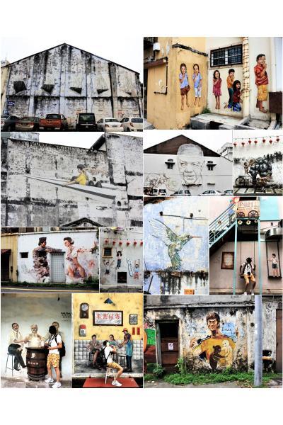 マレー半島陸路で縦断の旅 その④マレーシアの古都イポーでストリートアートとグルメを巡る