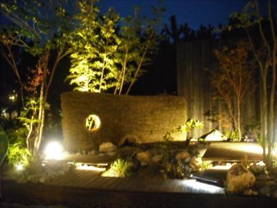 2018年10月 山口ゆめ花博 3回目 前編 夕方から庭のパビリオン散歩 夕暮れと夜景
