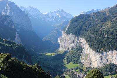 スイスを中心に半周するオヤジ一人旅9。ベルナーオーバーラント