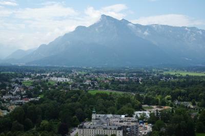 2018年オーストリアの旅 №13       *** Untersberg と Salzburg 旧市街観光 ~帰国へ ***